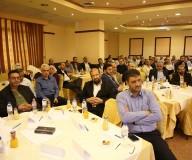 رئيس المتابعة الحكومية يلتقي موظفي الفئة العليا في المؤسسات الحكومية بغزة - تصوير/ عطية درويش