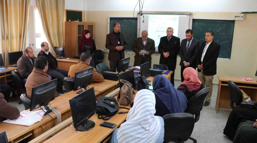 تعليم شرق خان يونس ينفذ ورشة عمل حول مبادرة (مقاس واحد لا يناسب الجميع)