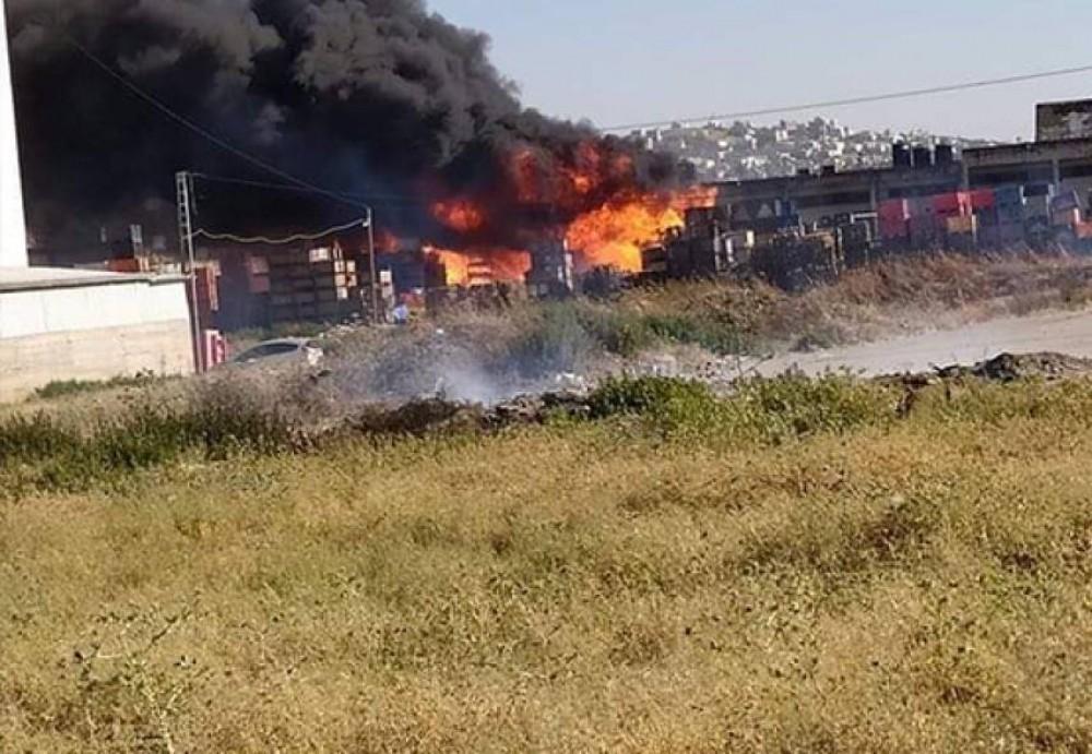 حريق السوق
