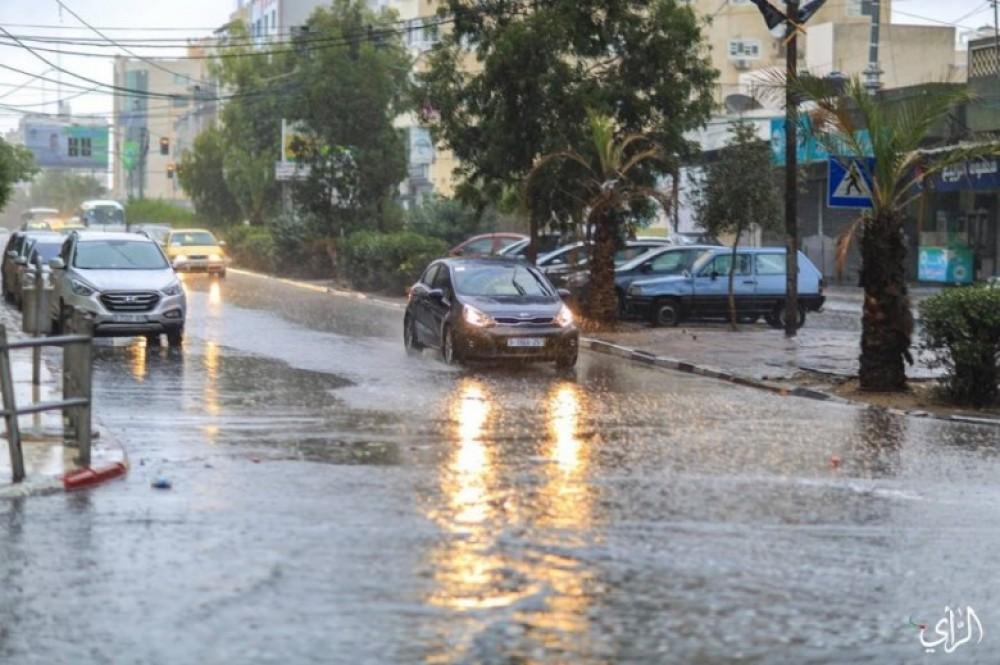 نسبة هطول الامطار