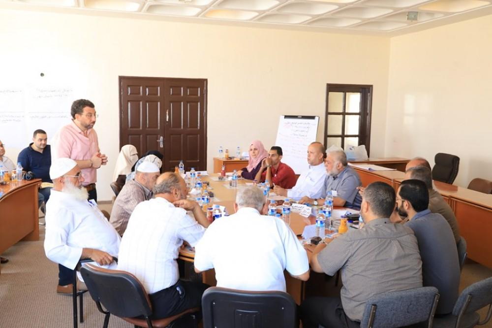 بلدية غزة وسلطة المياه يناقشان سبل تحسين جودة المياه