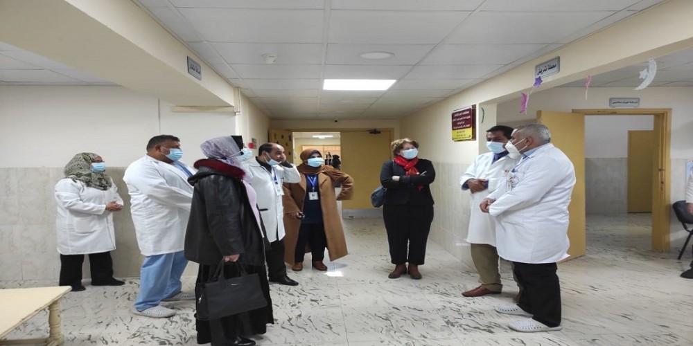 مستشفى النصر للأطفال تعزز تعاونها مع منظمة الصحة العالمية W.H.O