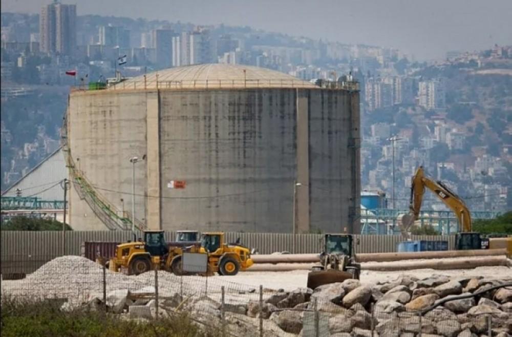 الاحتلال يُشيد مصنع أمونيا في النقب