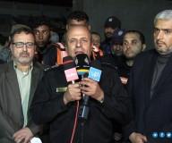 المؤتمر الصحفي للجنة الطوارىء بالمتابعة الحكومية - تصوير/ مدحت حجاج