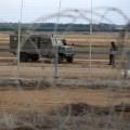 قوات الاحتلال على حدود على القطاع