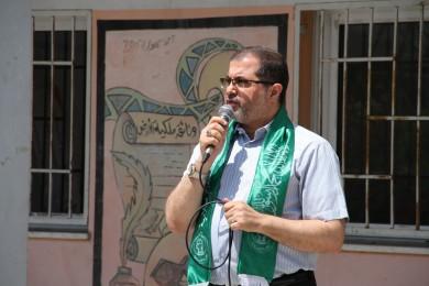 """""""نعيم"""" يستنكر تسارع بعض الدول العربية للتطبيع مع الاحتلال"""