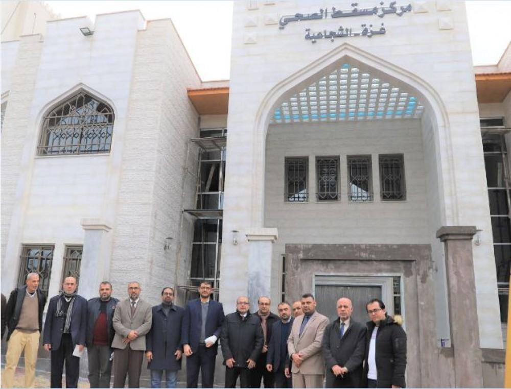 أبو الريش يشيد بجهود الهيئة العمانية للأعمال الخيرية في دعم المشاريع الصحية