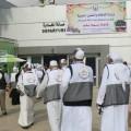 مغادرة حجاج غزة