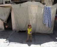 مخيم الشاطئ في ذكرى النكبة/تصوير عطية درويش