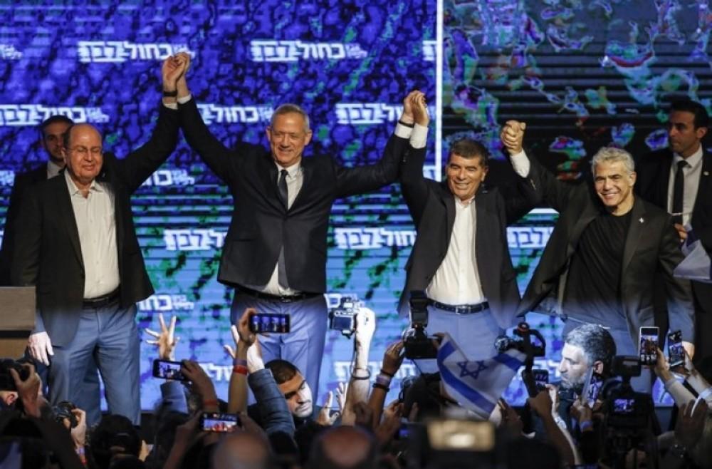اجتماع لقيادة أزرق أبيض لمناقشة اتفاقات تشكيل الحكومة