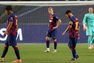 برشلونة يخسر أمام بايرن ميونخ بثمانية أهداف في دوري أبطال أوروبا