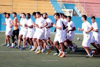 أولمبي فلسطين ينهي معسكره استعداداً لبطولة غرب آسيا
