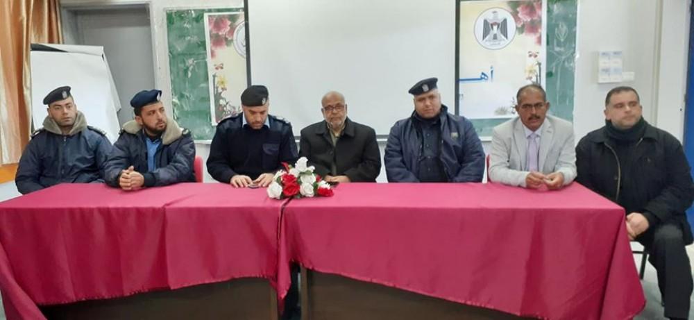تعليم شرق خان يونس يشرع في تنفيذ حملة توعية حول مخلفات الحروب