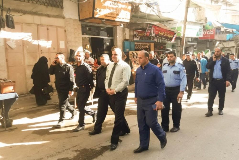 بلدية خان يونس تجري جولة ميدانية لشوارع المدينة