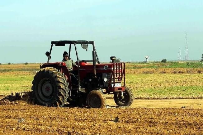 مزارعو قطاع غزة