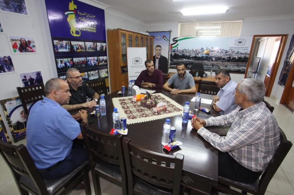 وزارة الأسرى تعزز تعاونها مع  منتدى الاعلاميين الفلسطينيين
