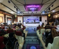 وزارة التنمية الاجتماعية تنظم الاحتفال المركزي لليوم العالمي للاشخاص ذوي الأعاقة-  تصوير/ رشاد الترك