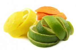 قشور بعض الفواكه صحية ومغذية