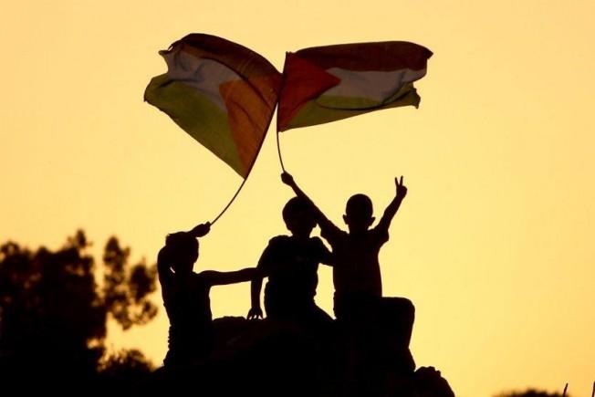 أطفال غزيين