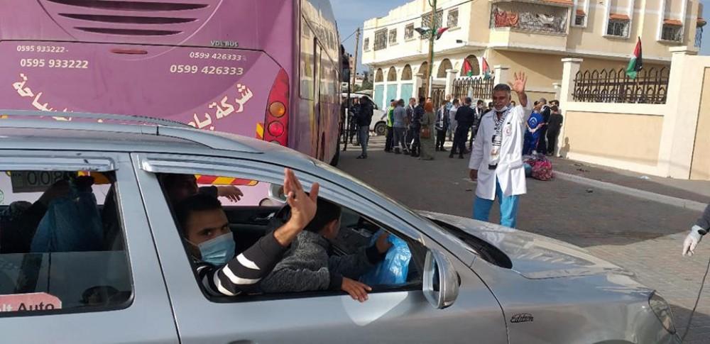 احدى المحجورات في مركز مسقط تقدم شكرها وامتنانها للكوادر الصحية