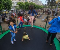 غزة تفرح بالعيد رغم ظروفها الصعبة...تصوير: عطية درويش