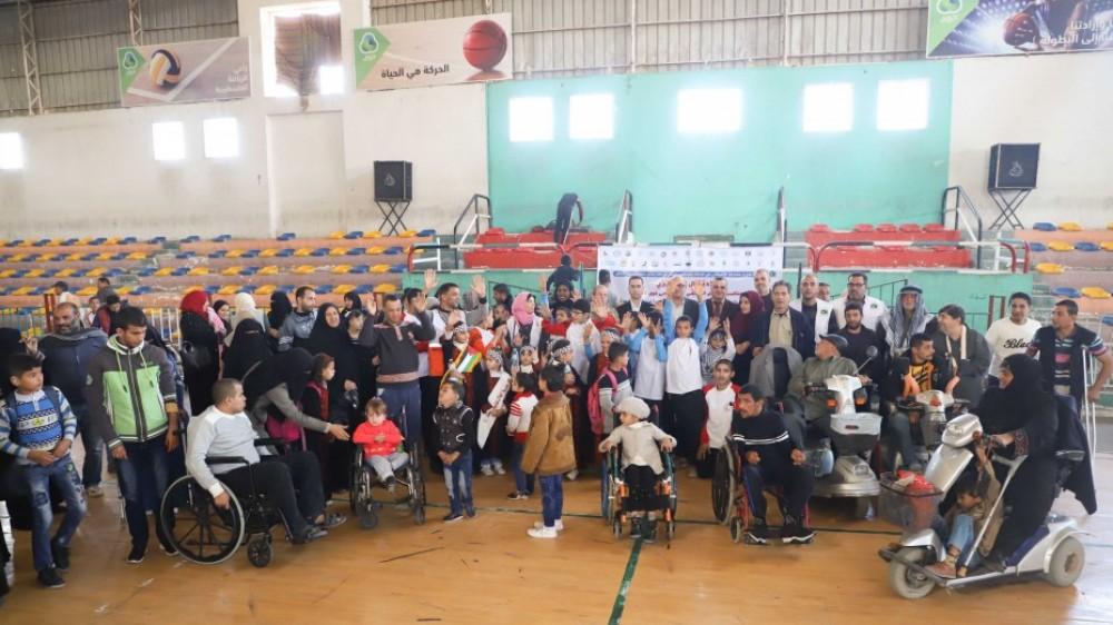 خان يونس: تنظيم احتفال مركزي إحياءً لليوم العالمي للمعاق