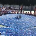 مدرسة سعودية تدخل غينيس للأرقام القياسية بـ323 ألف غطاء بلاستيكي