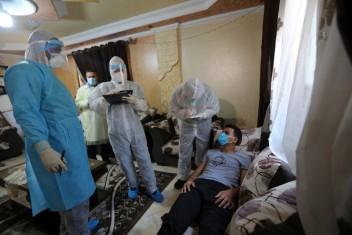 """الصحة بغزة: تسجيل 45 إصابة جديدة بـ""""كورونا"""" وتعافي 30"""