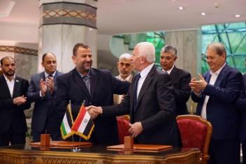 """""""حماس"""" تجدد التزامها ببيان الفصائل لإنجاز المصالحة"""