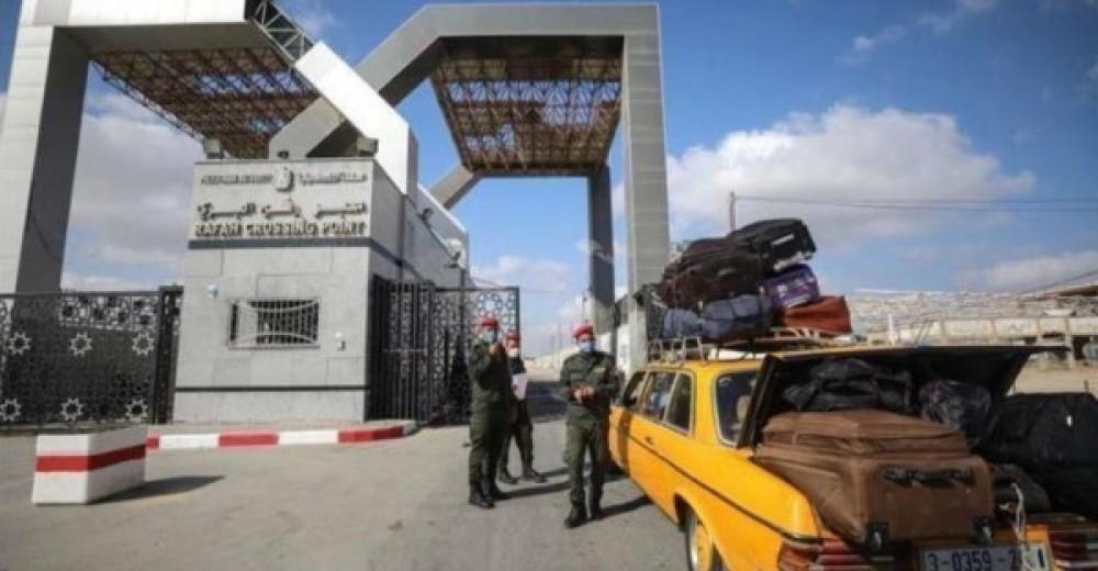 بوابة معبر رفح البري جنوب قطاع غزة