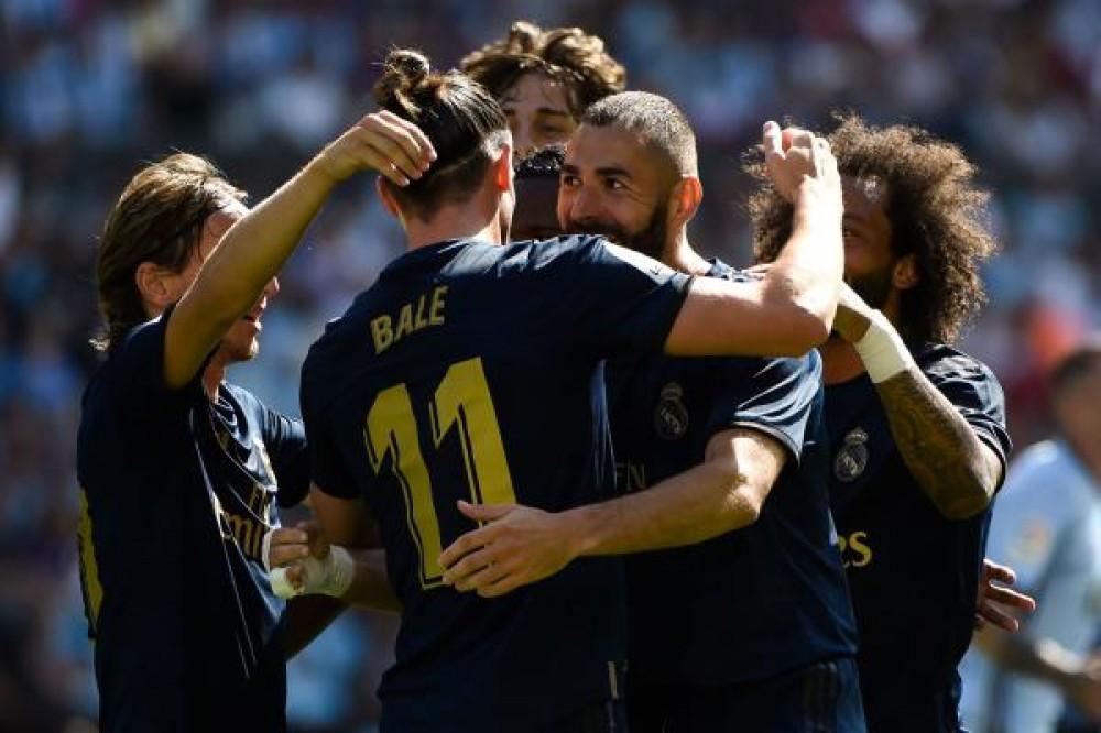 بطولة اسبانيا: ريال مدريد يفتتح موسمه باكتساح