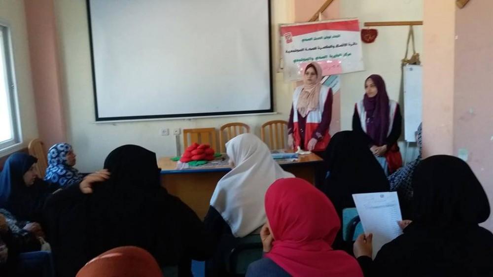 التنمية الاجتماعية تنفذ ورشة صحية بعنوان