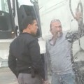 اعتداء الشرطي على السائق