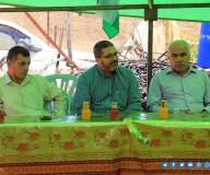 وزارة الزراعة تنظم جولة تفقدية لمزارعي البصل جنوب قطاع غزة.