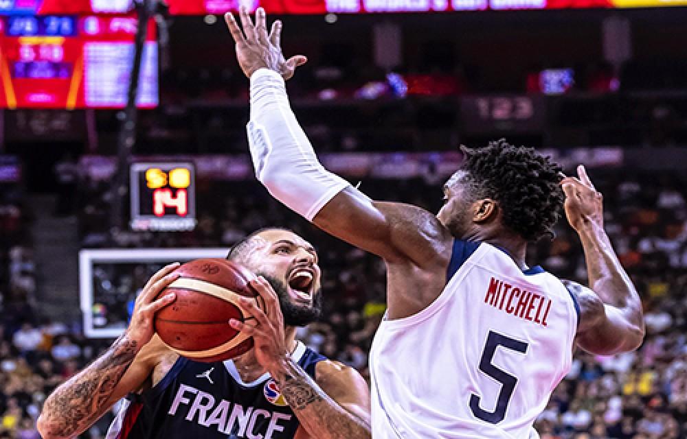 مونديال السلة فرنسا تحقق أكبر المفاجآت وتقصي الولايات المتحدة