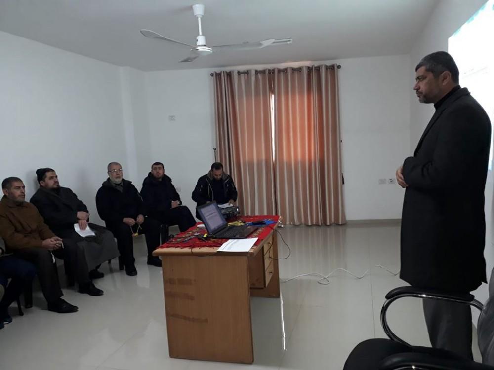أوقاف غزة تناقش آليات إعداد الخطة التشغيلية لعام 2020م