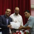 جانب من لقاء مركز بناء الشبابي مع تامر المسحال