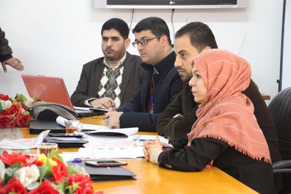 لجنة الجودة بالعدل تستقبل فريق التقييم الخاص بمبادرة أفضل دائرة حكومية