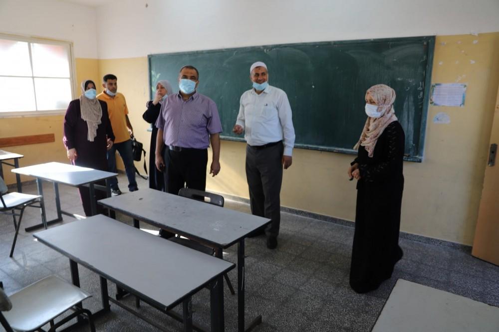 تعليم غرب غزة: المديرية شكلت فرق ميدانية لزيارة كافة المدارس