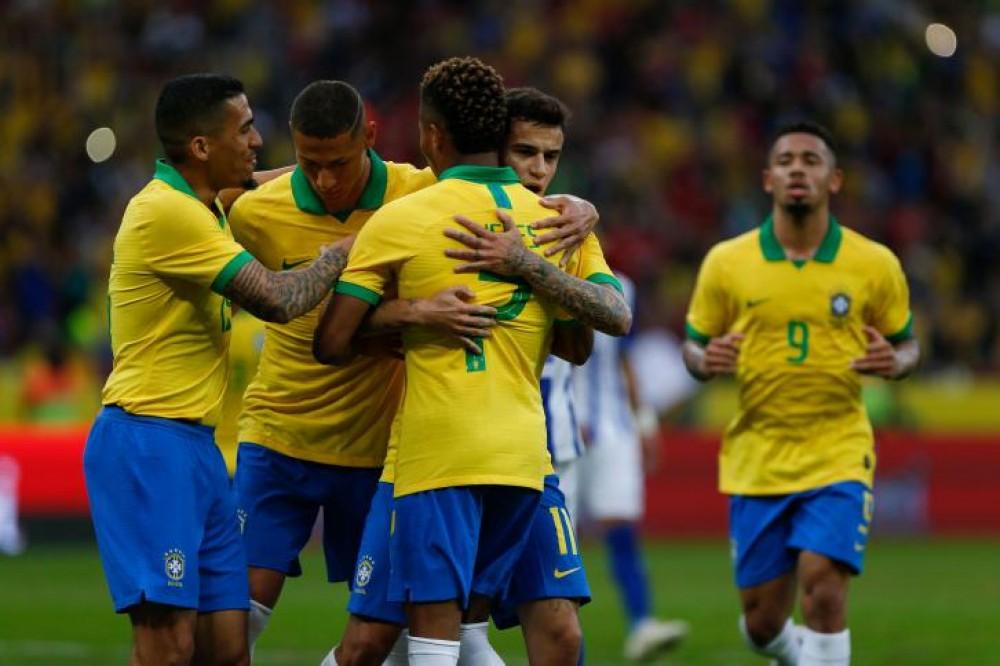 المنتخب البرازيلي يكتسح منتخب الهندوراس 7 / صفر وديا