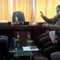 خلال اجتماع د. المدهون بوفد من الغرفة التجارية الصناعية بمحافظة شمال غزة