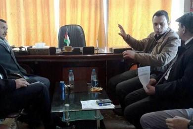 المعهد العالي للقضاء يعزز تعاونه مع الغرفة التجارية شمال غزة