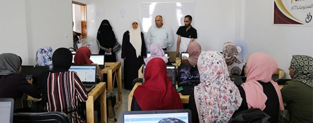"""مدرسة عبد المعطي الريس المهنية تنظم دورة متخصصة في مجال """"العمل الحر"""""""