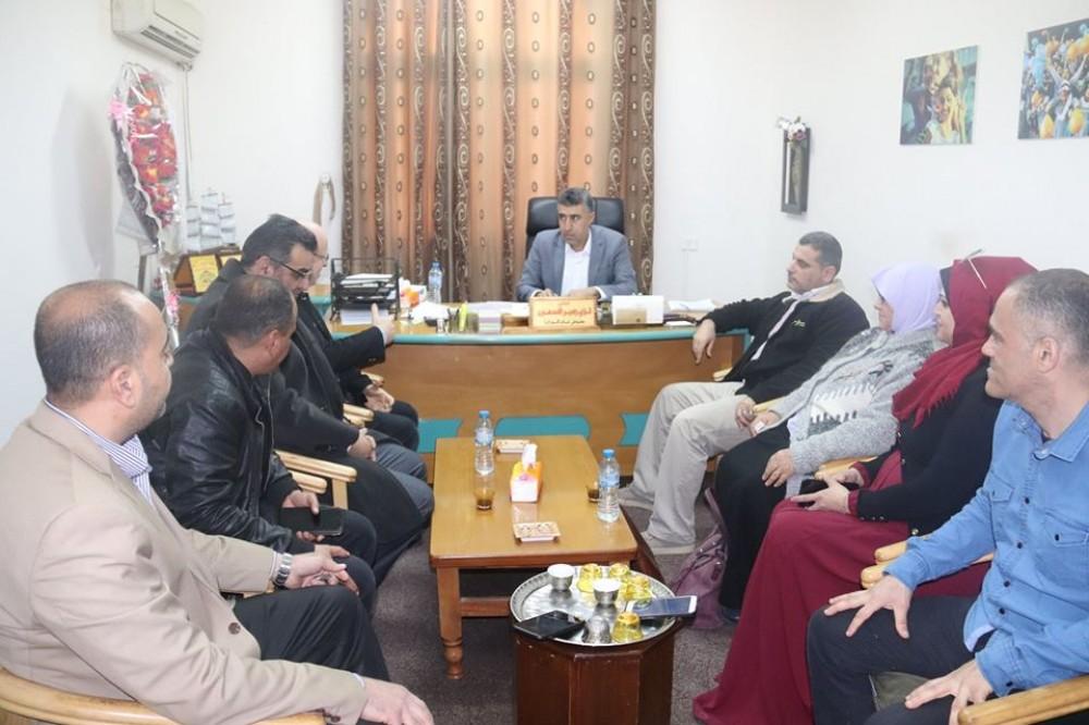 التنمية الاجتماعية تستقبل  وفداً من مبرة فلسطين للشلل الدماغي
