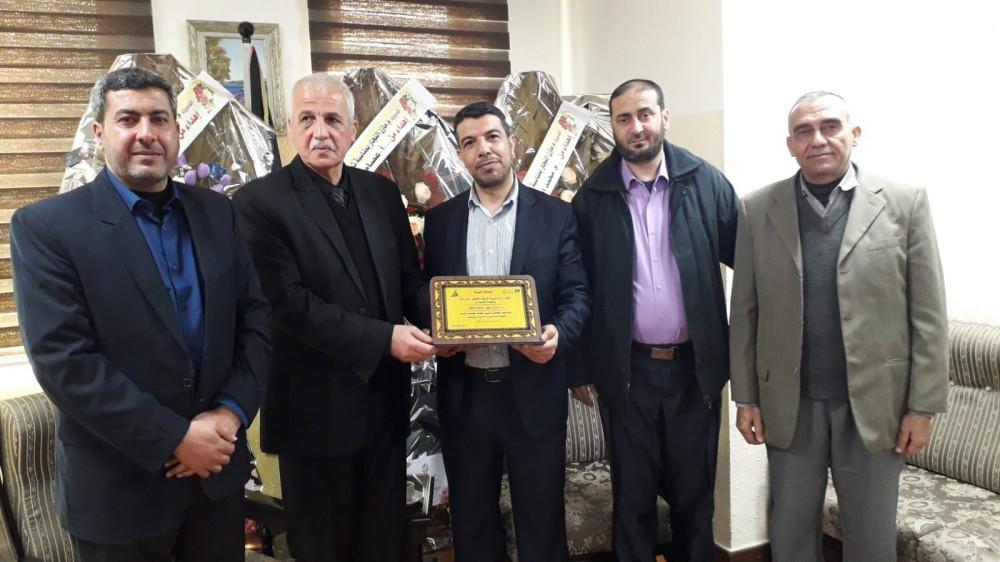 مديرية شمال غزة تبحث سبل التعاون المشترك مع بلدية جباليا النزلة
