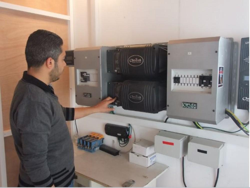 الصحة: تنفذ العديد من مشاريع الكهروميكانيك في مرافقها