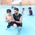 صورة من مخيم السباحة