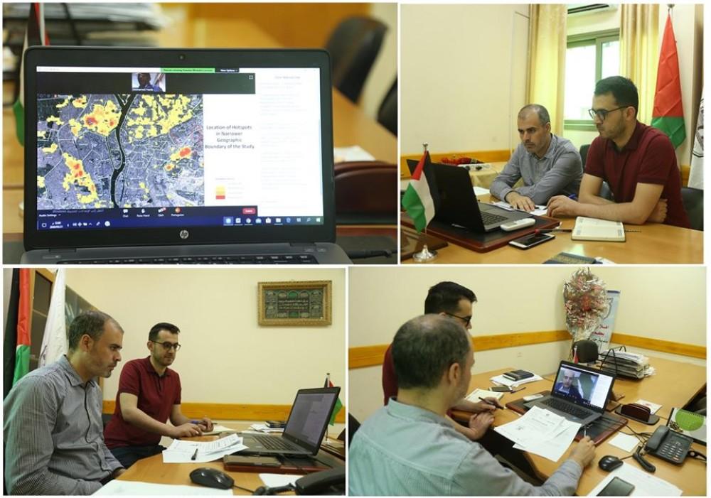 ورشة عمل لمناقشة مدى استجابة المدن والبلديات الاقليمية لجائحة كورونا