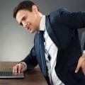 علاج ألم الظهر الناتج عن الجلوس على المكتب