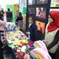 إنتاجات فنية وعلمية تعكس ابداع ووعى أطفال غزة بحقوقهم وقضيتهم
